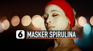 Spirulina yang awalnya dikenal hanya suplemen. Saat ini sudah berkembang dijadikan masker. Ternyata kandungan di dalam spirulina yang membuat banyak dicari.