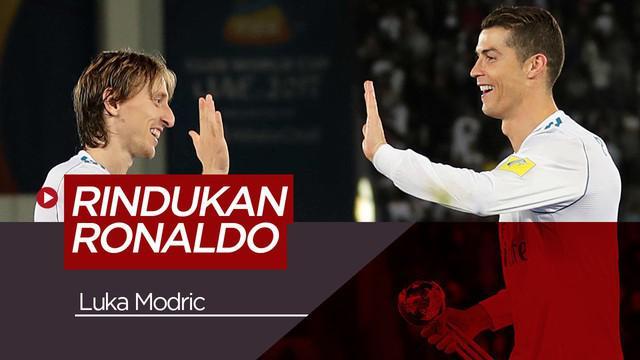 Berita video tentang Luka Modric yang mengakui merindukan sosok Cristiano Ronaldo di Real Madrid.