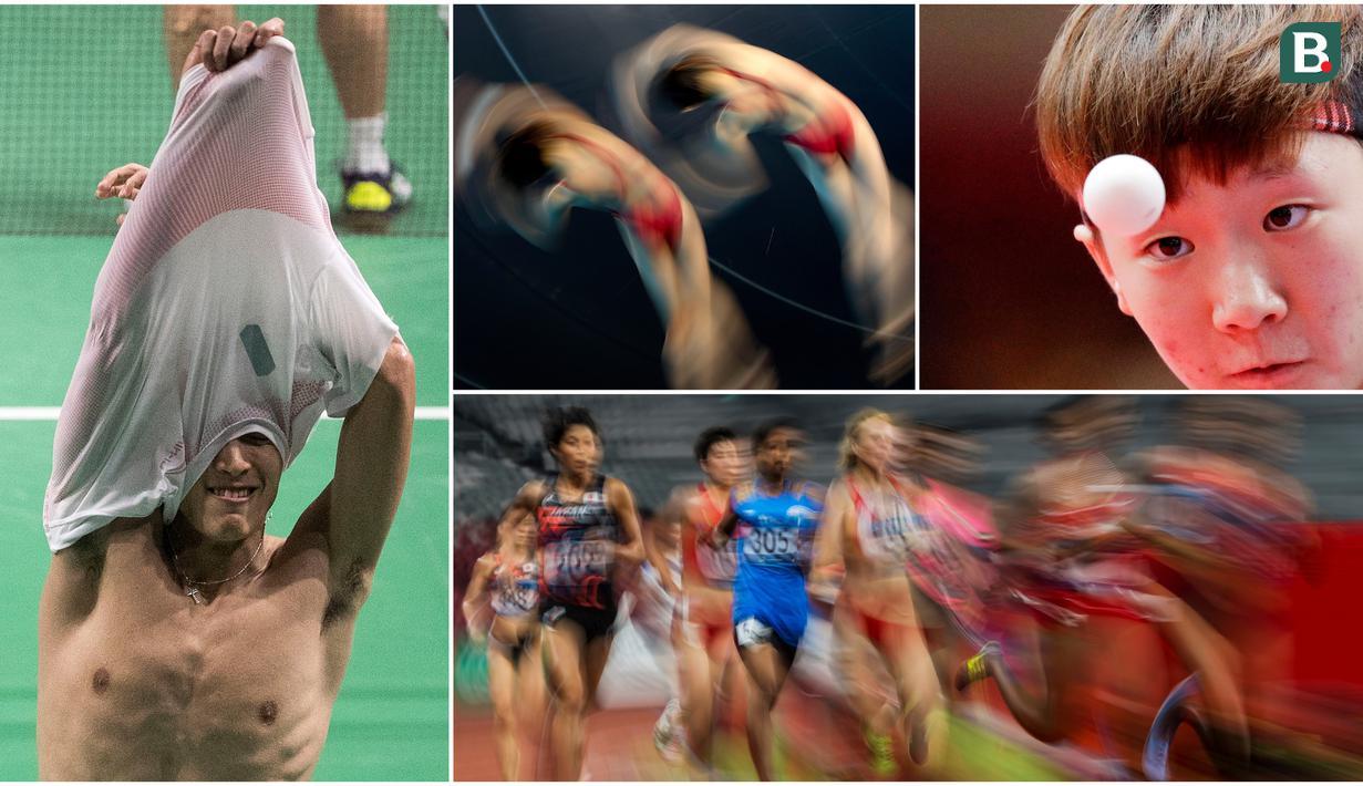 Berikut ini kumpulan momen menarik perhelatan akbar Asian Games sepanjang hari Selasa 28 Agustus 2018. (Foto-foto Kolase Bola.com)
