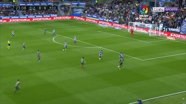 Berita video highlights La Liga 2018-2019 antara Alaves melawan Real Sociedad yang berakhir dengan skor 0-1 di Estadio de Mendizorroza, Sabtu (4/5/2019).