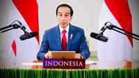 Presiden Jokowi saat menghadiri acara World Economic Forum (WEF) 2020 secara virtual dari Istana Kepresidenan Bogor, Jawa Barat, Rabu, 25 November 2020. (Dok:  Muchlis Jr - Biro Pers Sekretariat Presiden