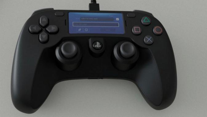 Bocoran prototype kontroler PlayStation 5 yang beredar di Reddit. (Foto: Reddit)