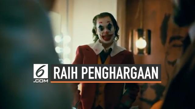 Film Joker raih penghargaan tertinggi dalam dalam Festival Film Internasional Venice 2019. Dalam perhelatanbergengsi itu Joker dapat penghargaan untuk film terbaik.