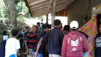 Dalam tiga hari terakhir, tiga wisatawan lokal menjadi korban keganasan ombak pantai selatan Garut, Jawa Barat. (Liputan6.com/Jayadi Supriadin)