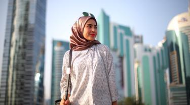 Koleksi Hijab Hoodie Yang Bikin Wajah Terlihat Lebih Tirus Fashion Fimela Com
