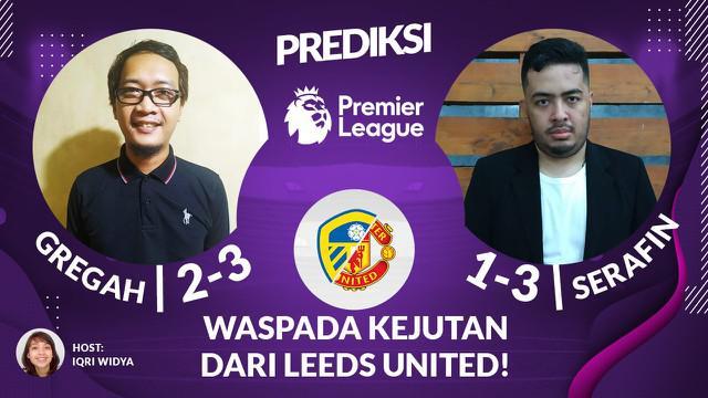 Berita Video Leeds United akan menjamu Manchester United dalam lanjutan Liga Inggris pekan ke-33, Minggu (25/4/2021). Berikut video prediksi selengkapnya.