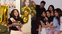 Momen Perayaan Ulang Tahun Aisyah Aqilah. (Sumber: Instagram.com/jeffaisvers.id dan Instagram.com/cherypratiwii)