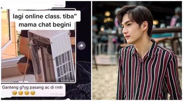 Viral Video Tukang Servis AC Bak Idol KPop yang Curi Perhatian, Ini 6 Potretnya