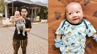 Potret Zayn Daulay Keponakan Syakir Daulay. (Sumber: Instagram.com/zikridaulay1 dan Instagram.com/hennyyrahman)