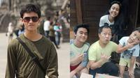 Pesona Raafi Ganto Putra Sandy Sandoro dan Ade Sechan (Sumber: Instagram/