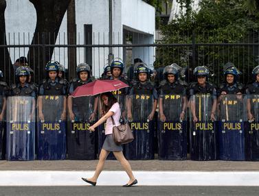 Filipina Kerahkan 40 Ribu Pasukan untuk Menjaga Pertemuan ASEAN-AFP-20170426