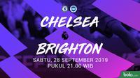 Premier League - Chelsea Vs Brighton and Hove Albion (Bola.com/Adreanus Titus)