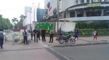 Unjuk Rasa Putusan MK Ricuh, Pusat Bisnis di Jakarta Dijaga Ketat