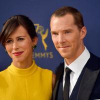 Benedict Cumberbatch dan pasangannya Sophie Hunter (Frazer Harrison / GETTY IMAGES NORTH AMERICA / AFP)