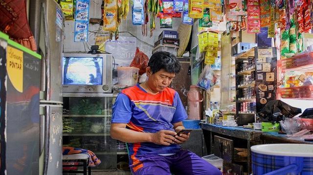 Ilustrasi: Mitra Warung Pintar. (Foto. Warung Pintar)