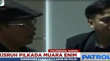 Kuasa Hukum paslon tersebut dilaporkan karena diduga mencemarkan nama baik Aruji, salah satu Komisioner Panwaslu Muara Enim.