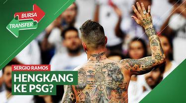 Berita video Bursa Transfer kali ini mengangkat gosip Sergio Ramos yang sempat dikabarkan menuju PSG, apalagi kini ia resmi meninggalkan Real Madrid.