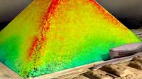 Penggunaan kamera penjejas panas memungkinkan para ilmuwan mengungkapkan sejumlah teka-teki tentang 4 piramida di Giza.