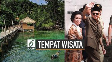 Almarhum BJ Habibie lahir di Parepare Sulawesi Selatan. Parepare memiliki ragam tempat wisata eksotis.