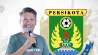 Persikota Kota Tangerang dan Gading Marten. (Bola.com/Dody Iryawan)