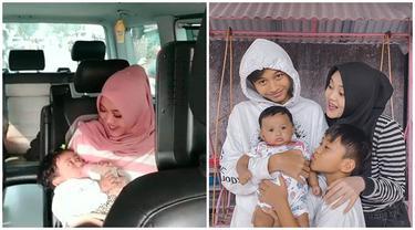 6 Potret Terbaru Bayi Mendiang Lina Mantan Istri Sule, Akrab dengan Kakak Sambungnya