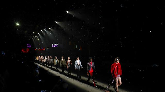 Coach Lights Up Shanghai, Runway Pertama Coach di Cina