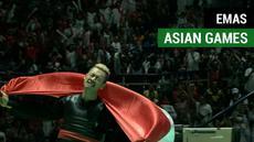 Berita video beberapa momen para atlet yang meraih medali emas di Asian Games 2018.