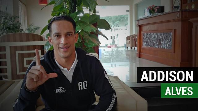Addison Alves mengungkapkan kesannya atas kedatangan The Jakmania untuk mendukung Persija Jakarta di Vietnam.