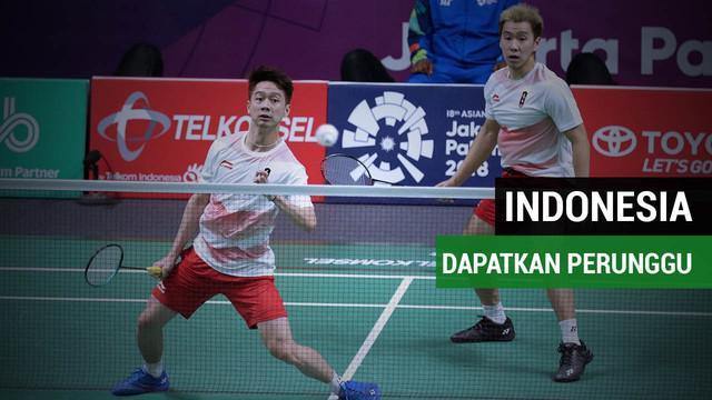 Bulutangkis beregu putra Indonesia hanya mendapatkan medali perak pada Asian Games 2018 usai takluk oleh China dengan skor akhir 1-3.