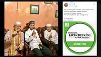 Cek Fakta-Arti di balik acungan satu jari Ustaz Abdul Somad