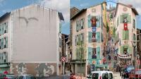 Seniman ini ubah gedung polos dan usang menjadi gedung baru lebih berwarna, bikin takjub. (Sumber: Elite Readers)