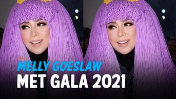 VIDEO: Melly Goeslaw Unggah Potret Hadiri Met Gala 2021, Seperti Sungguhan