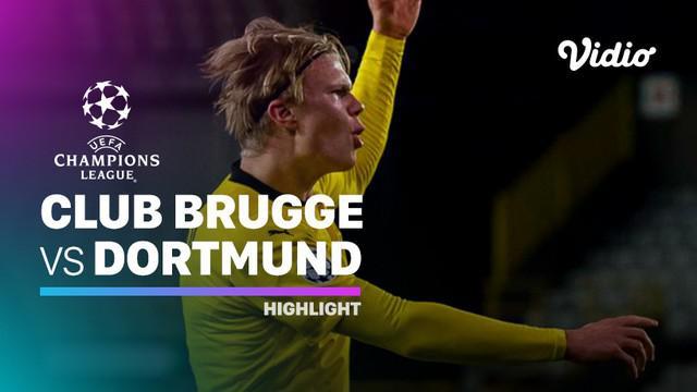 Berita video, Borussia Dortmund berhasil kalahkan Club Brugge di matchday 3 Liga Champions 2020/2021