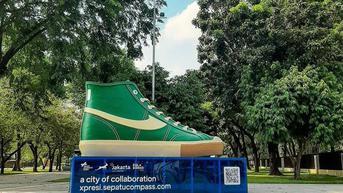 Wagub DKI: Pelaku Vandalisme Instalasi Seni Sepatu Sedang Ditelusuri