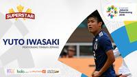 Superstar Yuto Iwasaki (Bola.com/Adreanus Titus)