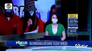 Fokus Pagi mengangkat beberapa topik berita sebagai berikut, Warga Antre Isi Oksigen, Lonjakan Covid-19, Artis Terjerat Narkoba, Laka di Tol, 8 Penumpang Tewas.