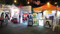 Lembaga pegiat anti korupsi mendesak Polda Sulsel selidiki aroma korupsi dalam kegiatan komersialisasi fasum pasar segar di Makassar (Liputan6.com/ Eka Hakim)