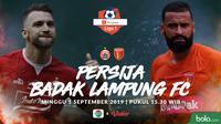Shopee Liga 1 - Persija Jakarta Vs Badak Lampung FC - Head to Head (Bola.com/Adreanus Titus)