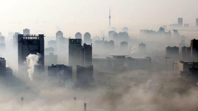 Ilustrasi perubahan iklim (AFP)
