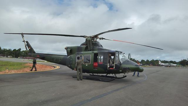 Pencarian Helikopter MI-17