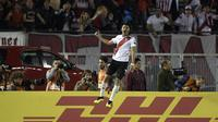 Gelandang berbakat River Plate Exequiel Palacios dibidik AC Milan. (AFP/Juan Mabromata)