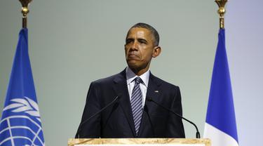 Obama: Amerika Berkomitmen Lakukan Perubahan Iklim