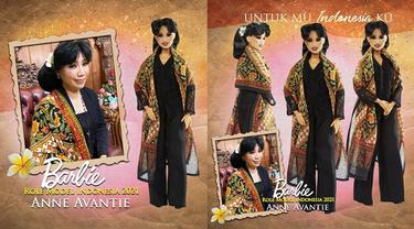 6 Potret Desainer Anne Avantie, Orang Indonesia Pertama Jadi Role Model Barbie