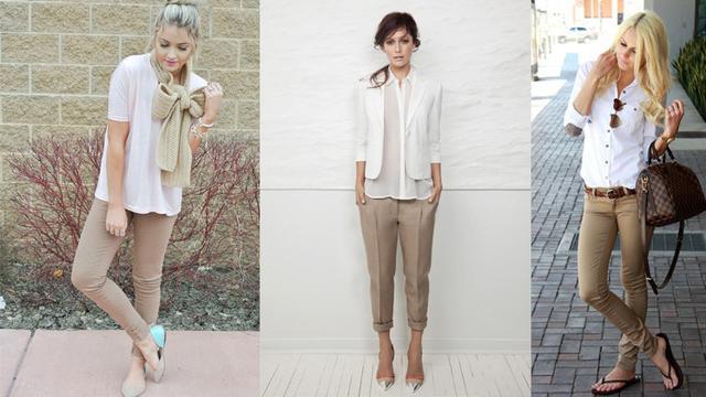 Tampil Lebih Gaya Dengan Warna Khaki Fashion Bintang Com