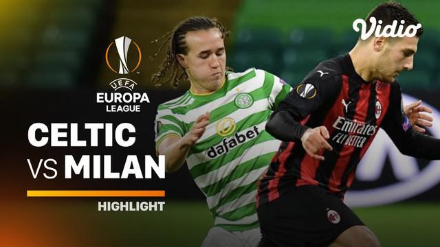 Berita video highlights Liga Europa, AC Milan menang atas wakil Skotlandia, Celtic dengan skor 3-1, Jumat (23/10/20).