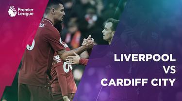 Liverpool menang 4-1 atas Cardiff City pada lanjutan Premier League, di Stadion Anfield, Liverpool, Sabtu (27/10/2018)