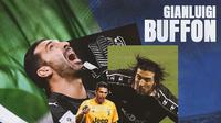 Ilustrasi - Gianluigi Buffon: Italia, Parma, Juventus (Bola.com/Adreanus Titus)