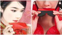 Kembangkan Budaya China Kuno, Desainer Ini Buat Lipstik Unik Berbentuk Kartu (sumber: Odditycentral)
