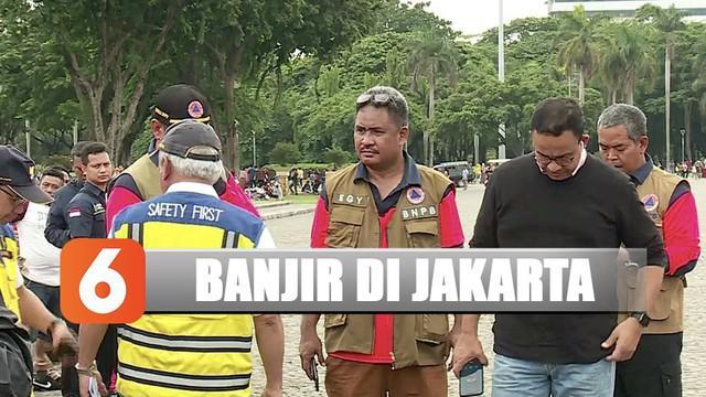 Anies meminta kepada seluruh warga DKI Jakarta yang berada di aliran sungai untuk bersiaga.
