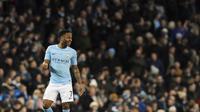 7. Raheem Sterling (Manchester City) - 9 Gol. (AP/Rui Vieira)